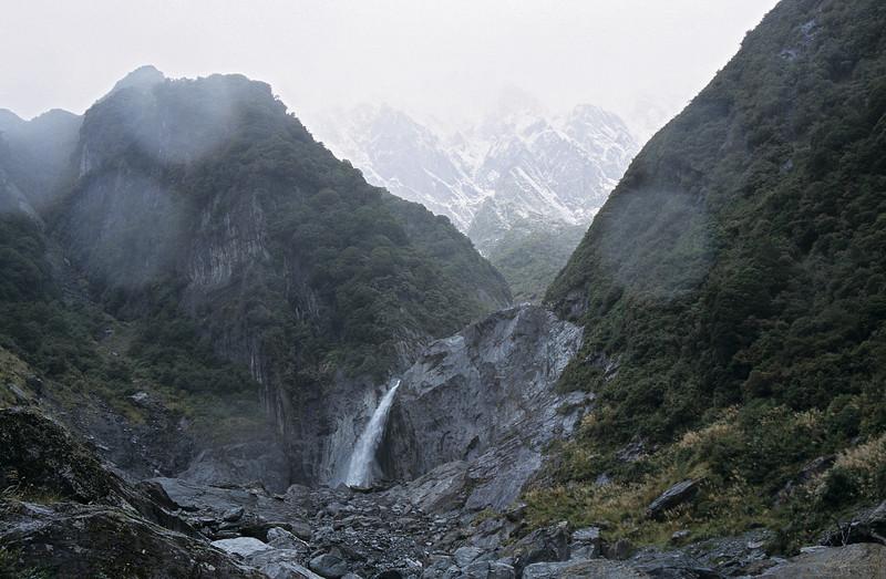 Scott Creek waterfall
