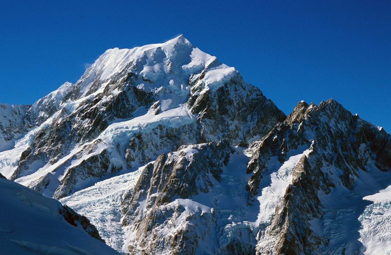 Mount Cook from Copland Pass
