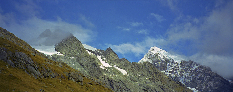 Mount Sefton at the head of the Copland River