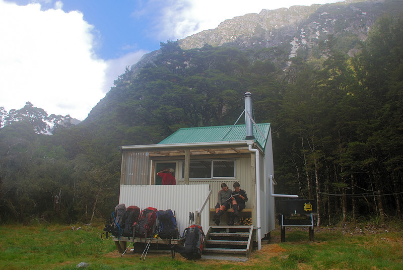 Lame Duck Hut, Karangarua River