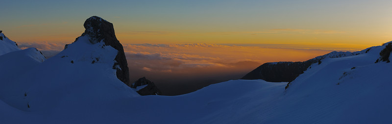 Fox Range tops at dawn