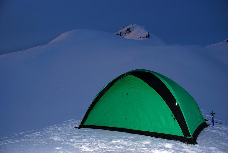 Our last campsite on the Fox Range