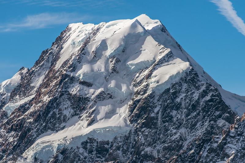 Aoraki/Mount Cook from Mount Ollivier