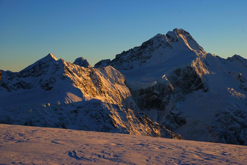 Mt Sefton from Sladden Saddle