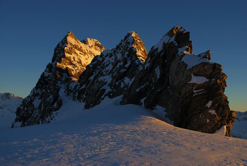 Sunrise on Mt Massey