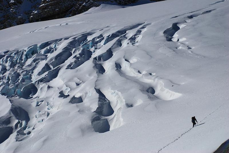 On the Metelille Glacier