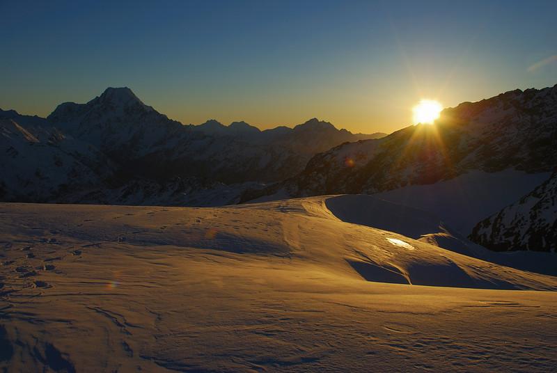 Sunrise from Sladden Saddle
