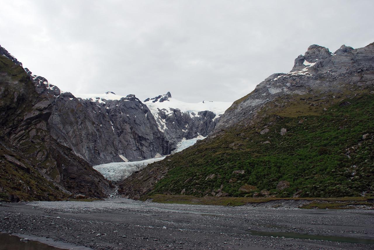 Horace Walker Glacier and Mount Glorious