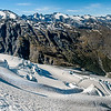 Panorama from the Wicks Glacier