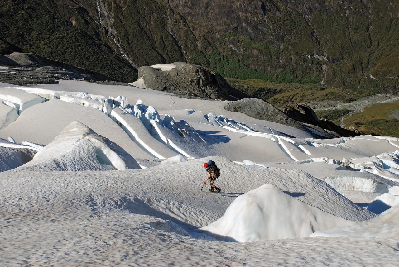 On the  Wicks Glacier