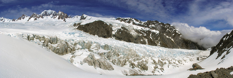 Mount Tasmand and Fox Glacier