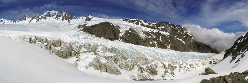 Mount Tasmand and Fox Glacier