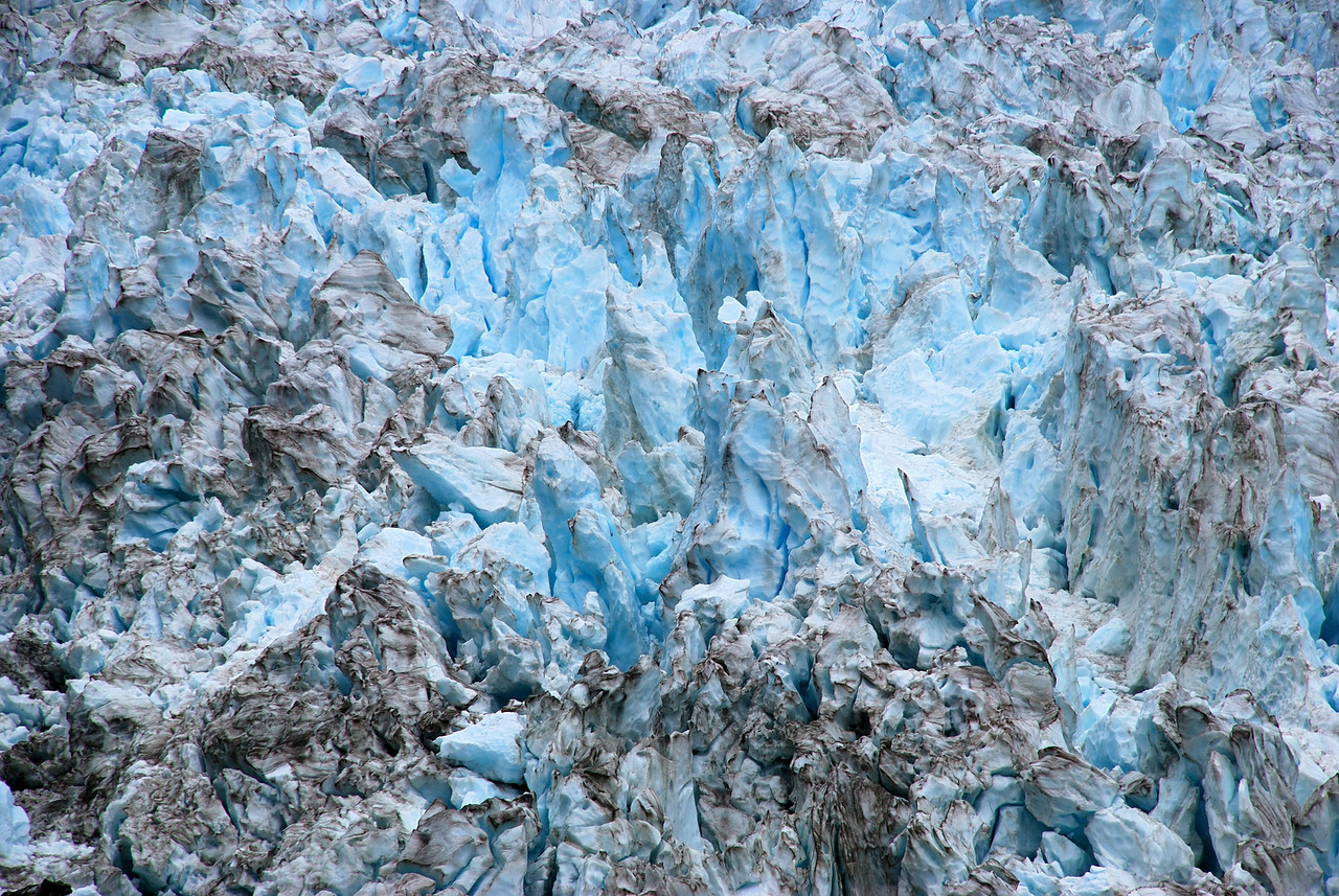 Fox Glacier ice