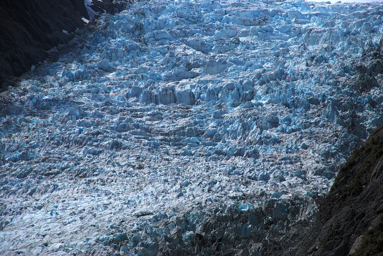 Fox Glacier second icefall