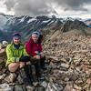 On the summit of Mount Wakefield