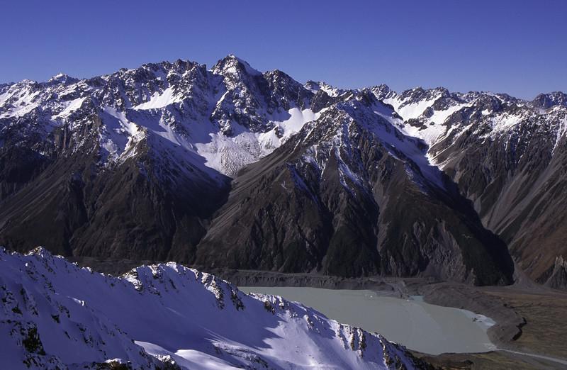 Tasman Lake and The Nuns Veil