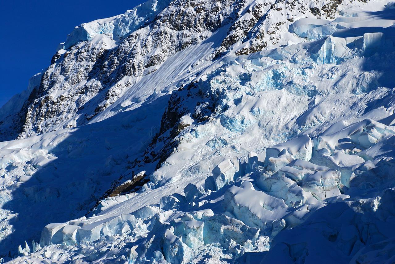 Ice jumbles on the Tuckett Glacier