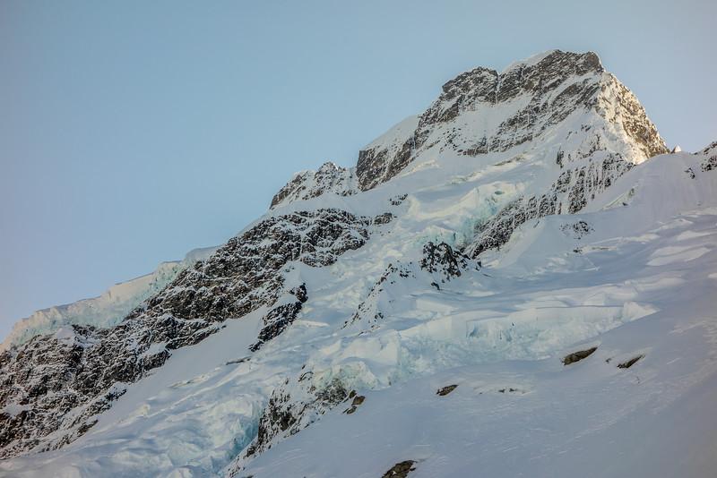 Mount Sefton east face