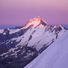 Mt Thomson and Mt Sefton at sunrise