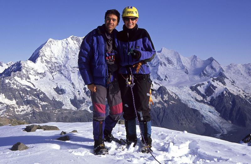 On the summit of The Nuns Veil