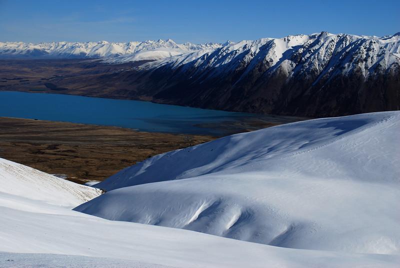 Lake Tekapo from Snake Ridge