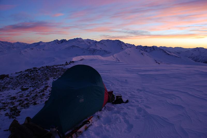 Beuzenberg Peak campsite