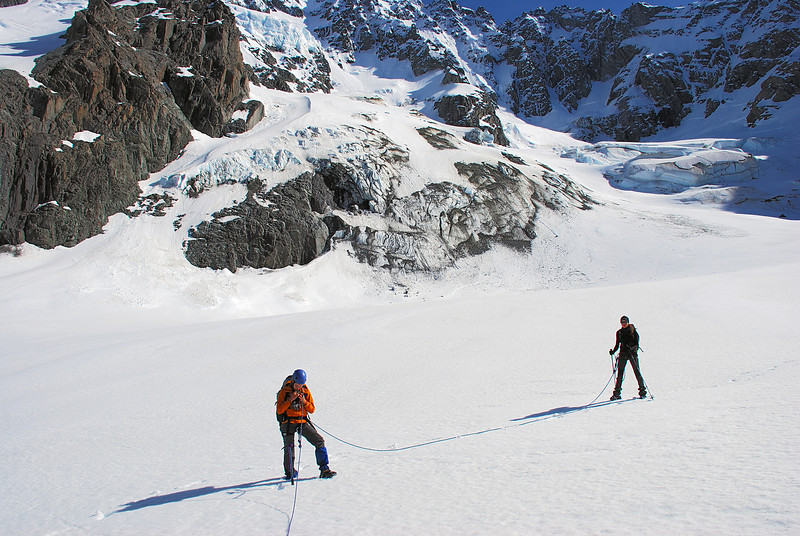 On the Ashburton Glacier