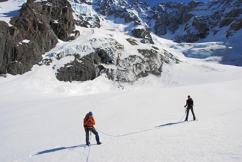 On the Ashburton Glacier