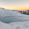 Casey Tarn, Birdwood Range. Thesis Peak on right