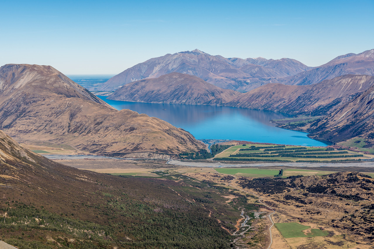 Lake Coleridge and the Black Hill Range