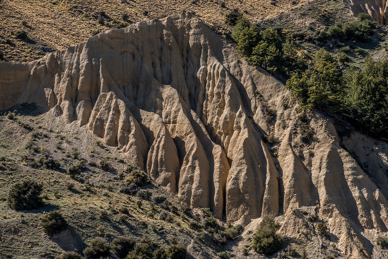 Erosion flutes in Butlers Creek