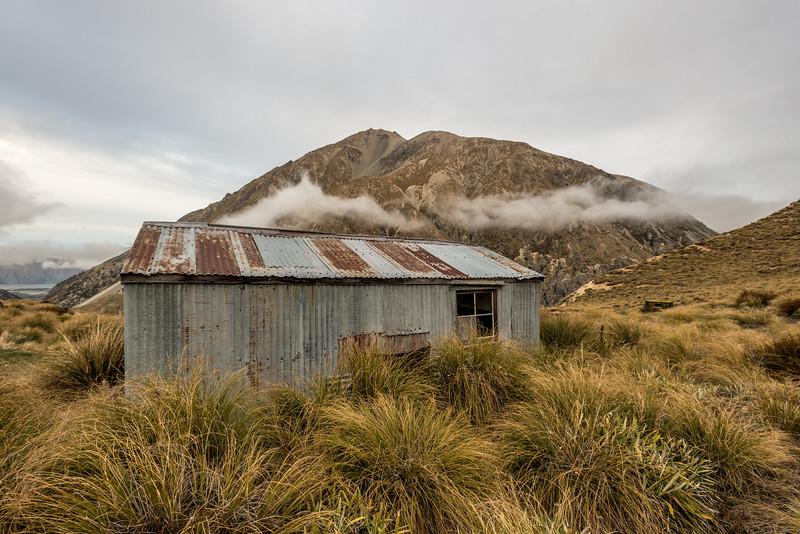 Crooked Spur Hut, Bush Stream.