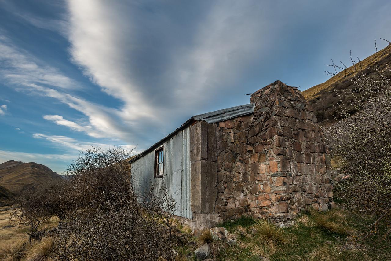 Stone Hut, Bush Stream.