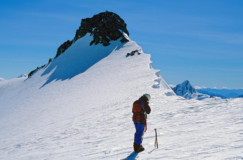 The low peak of Mt Tyndall