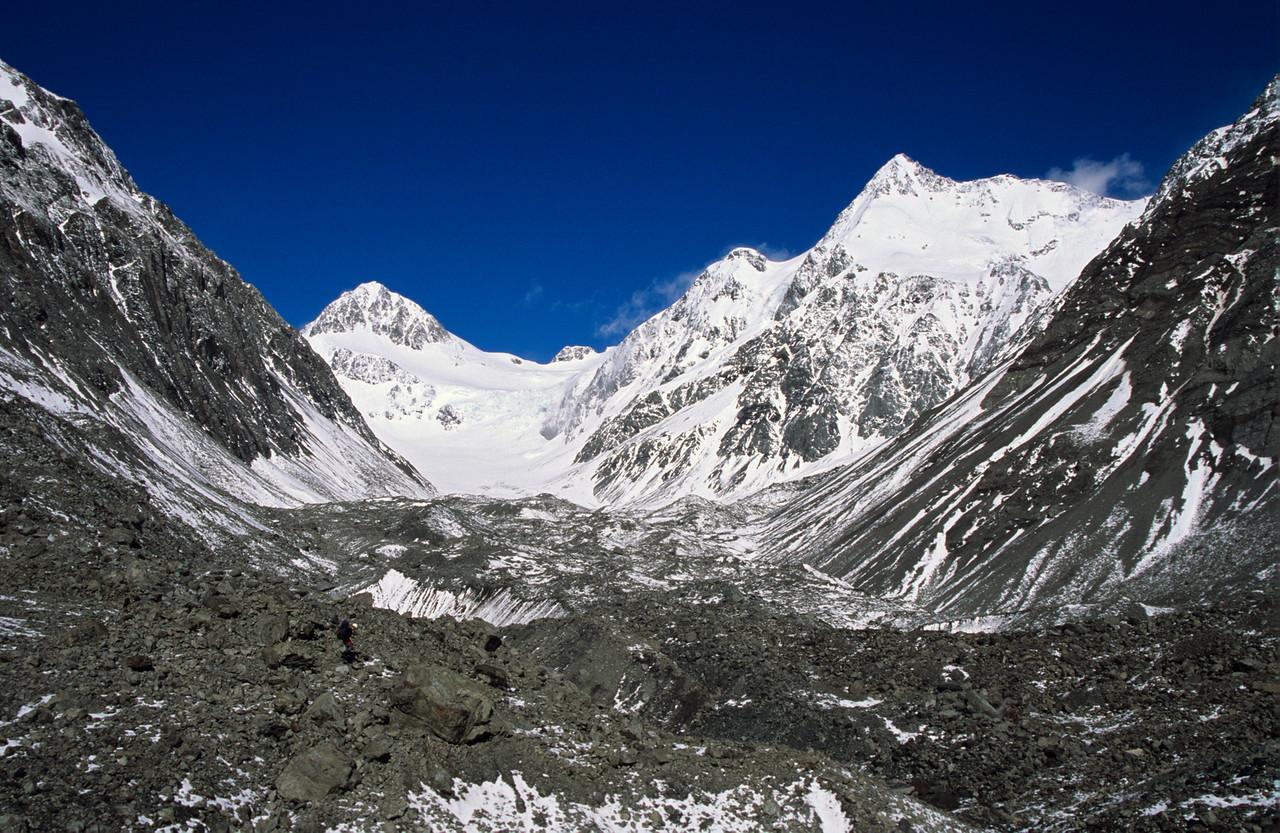 Lyell Glacier Moraine