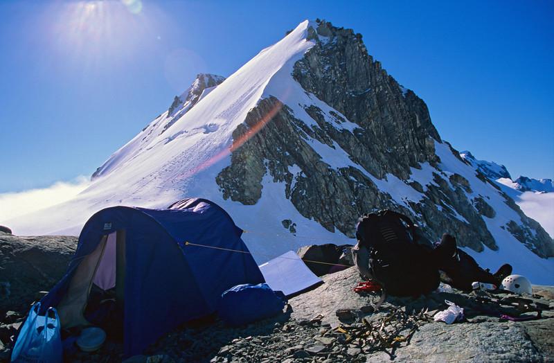 Campsite below Guardian Peak, Adams Col