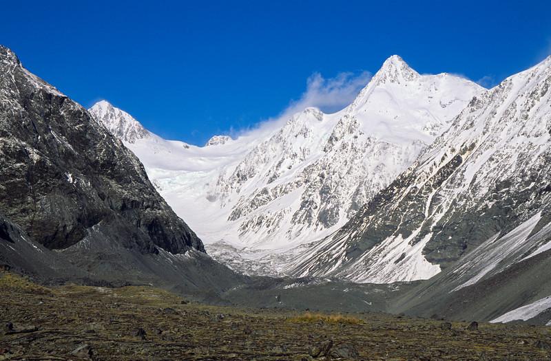 Mt Nicholson and Malcolm Peak