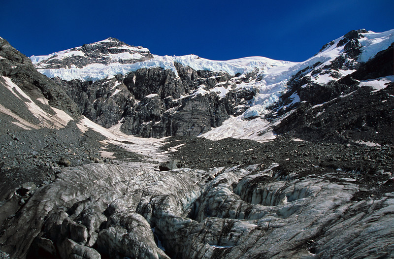 Mt Tyndall and Colin Campbell Glacier