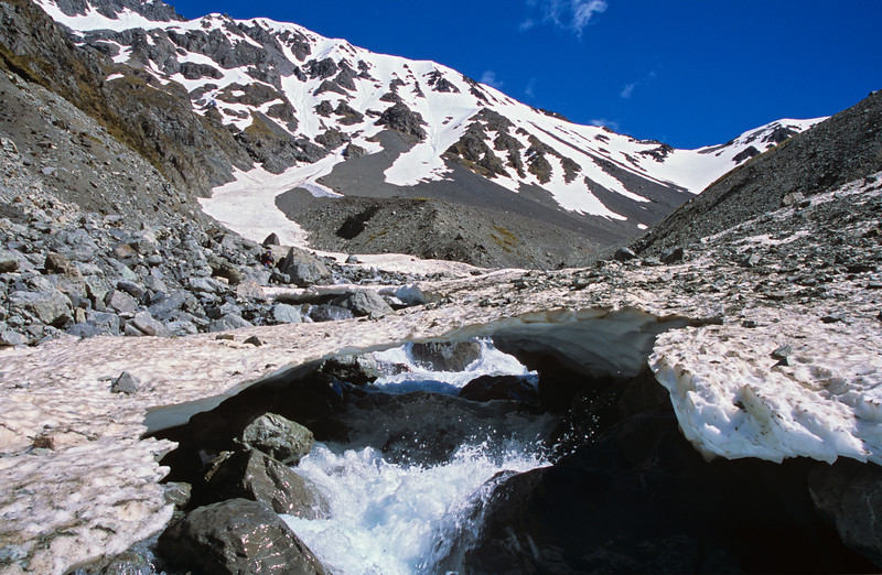 Butler Stream, on route to Butler Saddle