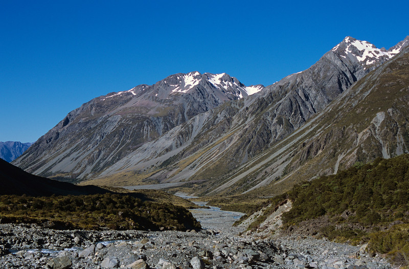 Jollie Range and Lawrence River upstream of the biv