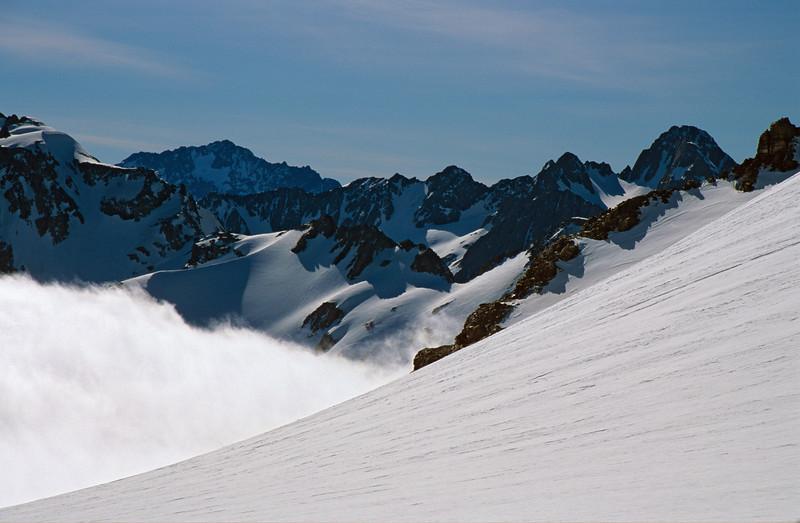 Mt Arrowsmith from the Lambert Glacier
