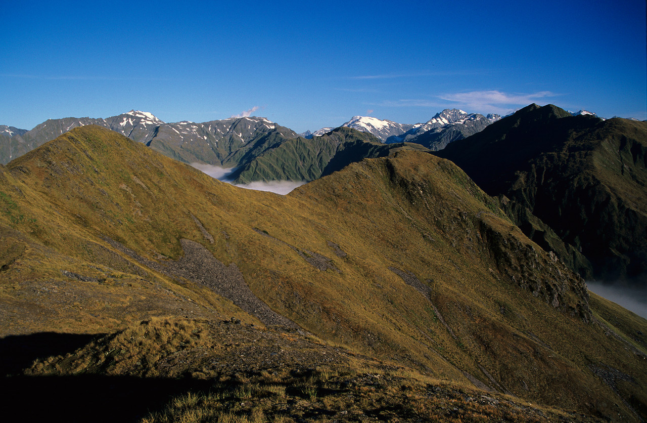 The Hitchin Range from Mt Allen