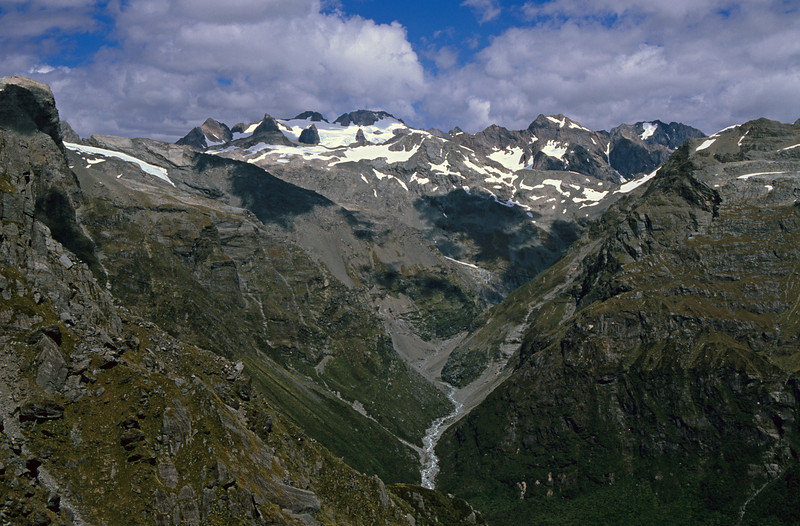 Vane Stream and the Lord Range