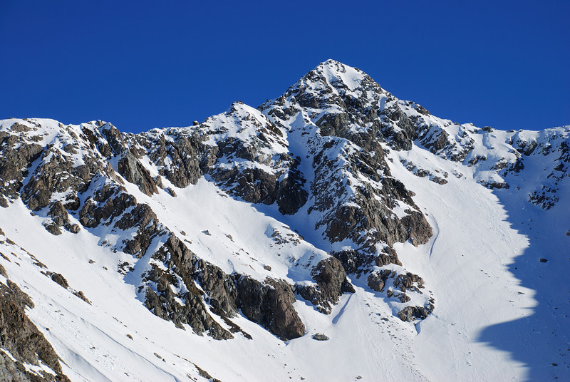 Mt Gizeh's eastern outlier from Sphinx Saddle