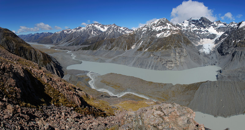 Godley River and Lakes, and the Liebig Range