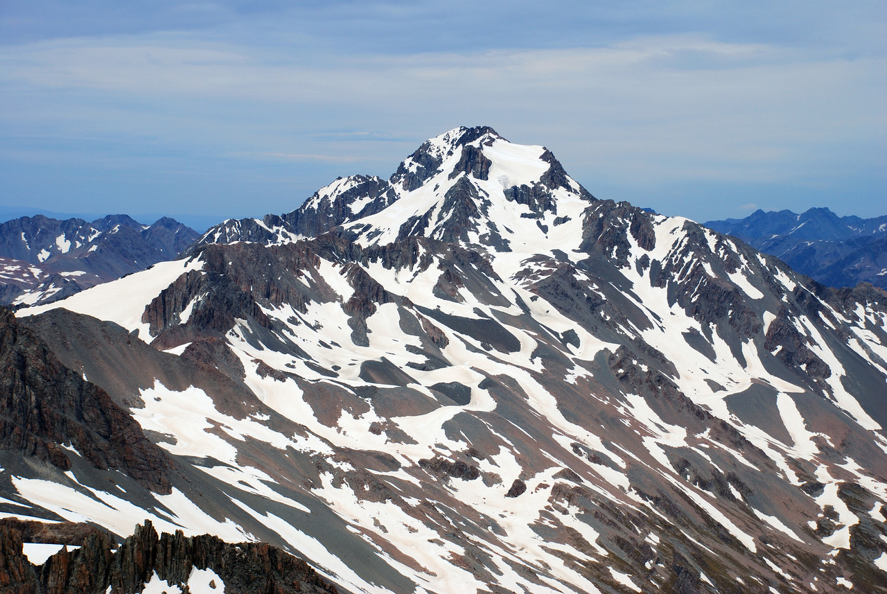 Mt Sibbald from Mt Forbes