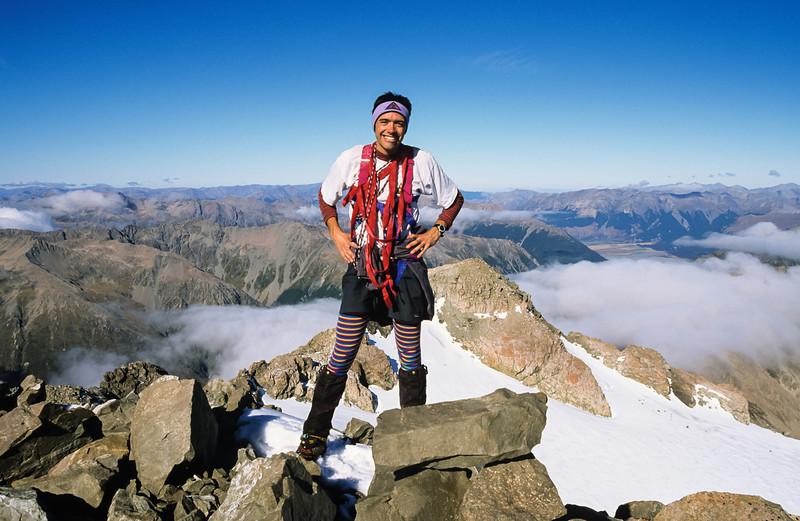 On Mount Rolleston's High Peak