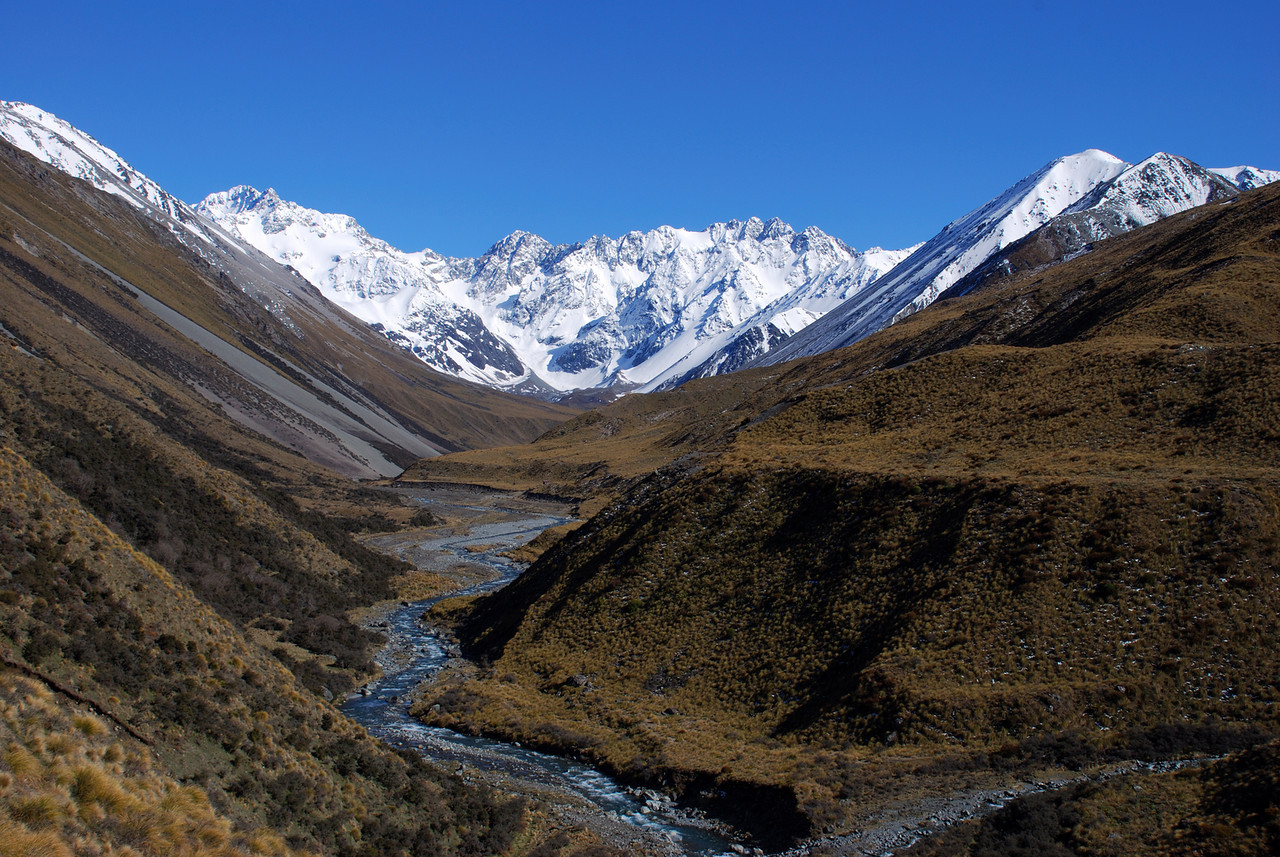 Cameron River - looking into the valley head