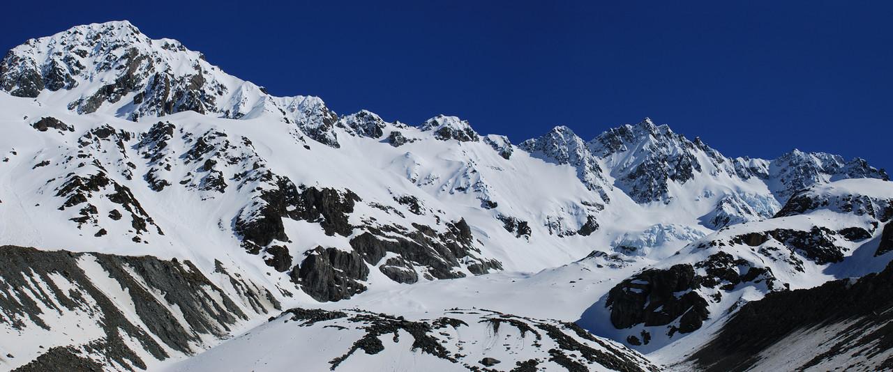 Ashburton Glacier and Mt Arrowsmith