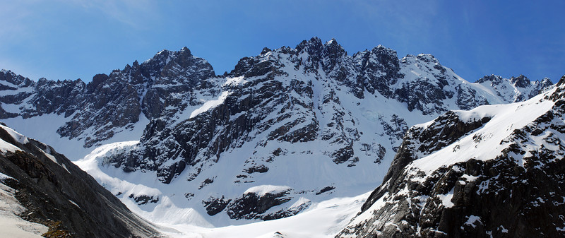 Couloir Peak and Jagged Peak